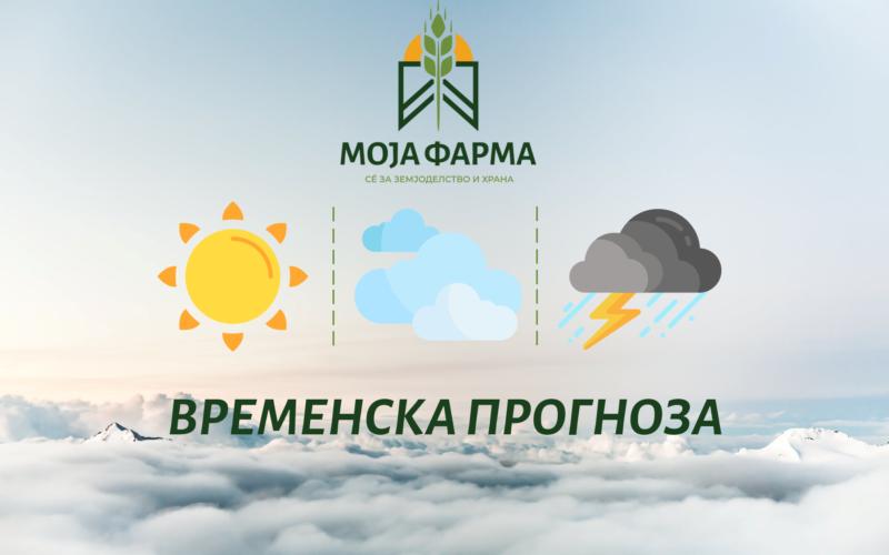 Тридневна временска прогноза (22.07.2021)